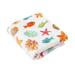Colorful Fish Velvet Plush Throw Blanket