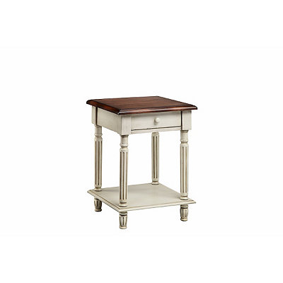 White Truffle Side Table