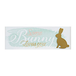 Some Bunny Loves You Word Block
