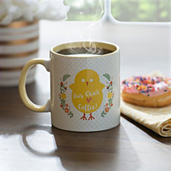 Chick Hearts Coffee Easter Mug