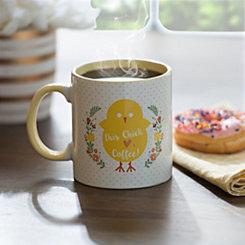 Chick Hearts Coffee Easter Mug