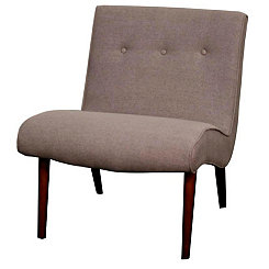 Gray Alexis Accent Chair