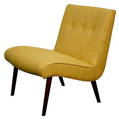Yellow Alexis Accent Chair