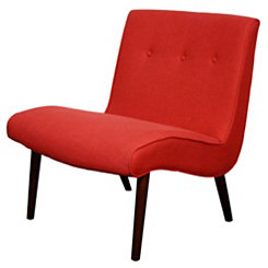 Red Alexis Accent Chair