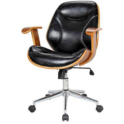 Costa Wooden Office Chair
