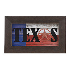 Texas Flag Shadowbox