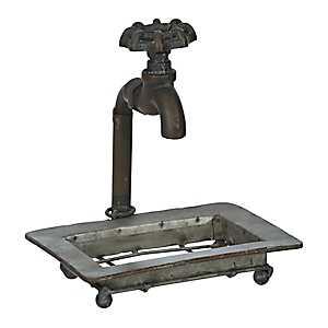 Antique Faucet Soap Dish