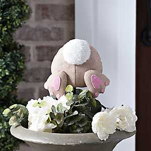 Brown Easter Bunny Bottom Pick