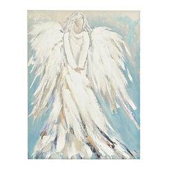 Standing Angel Canvas Art Print