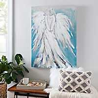 Standing Angel Canvas Art Print