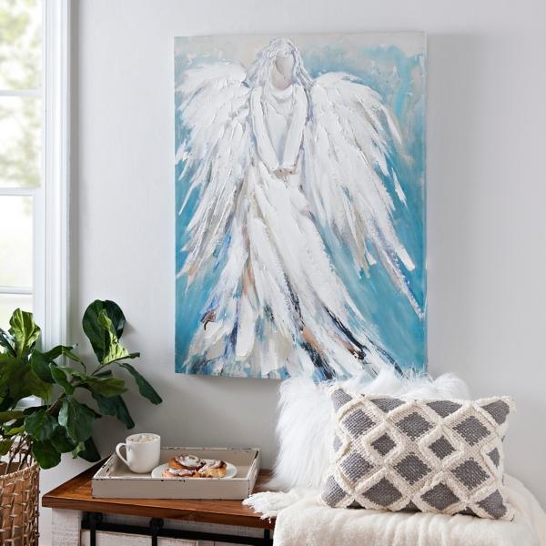 Standing Angel Canvas Art Print Part 72