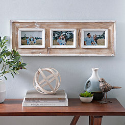 Distressed Whitewash Collage Frame, 5x7