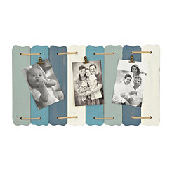 Blue Plank Clip Collage Frame