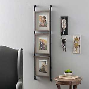 Industrial Pipe Collage Frame