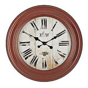 Conley Red Wall Clock