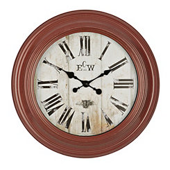 Conley Red Wall Clock