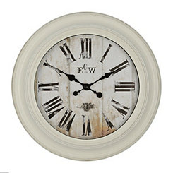 Conley Cream Wall Clock