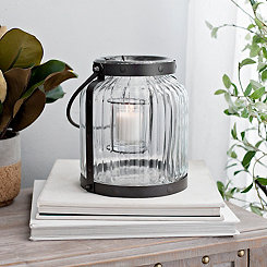 Ribbed Votive Drop Lantern