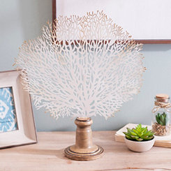 White Coral Tree Finial