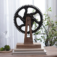 Industrial Gear Figurine