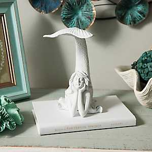Tail Up Mermaid Figurine