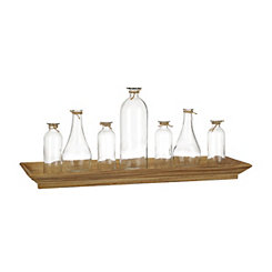 Simple Charm Bottle Vase Runner Set