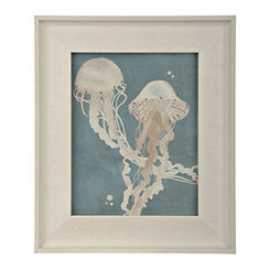 Jellyfish Dance I Framed Art Print