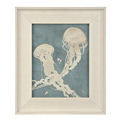 Jellyfish Dance II Framed Art Print