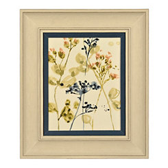 Blush Buds II Framed Art Print