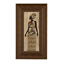 Kitenge Framed Art Print