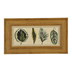 Palm Lineup Framed Art Print