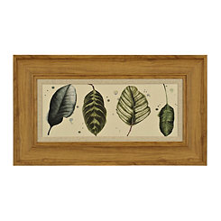 Palm Lineup II Framed Art Print