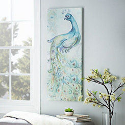 Peacock I Canvas Art Print