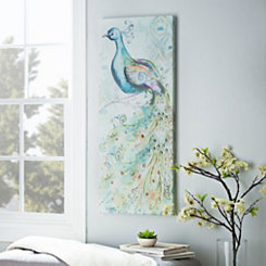 Peacock II Canvas Art Print