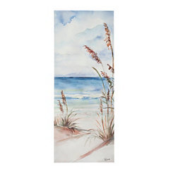 Sea View II Canvas Art Print