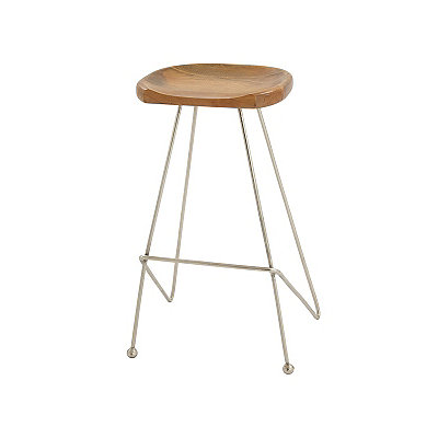Oak Saddle Seat Stool