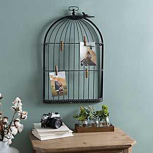 Bird Cage Clip Collage Frame