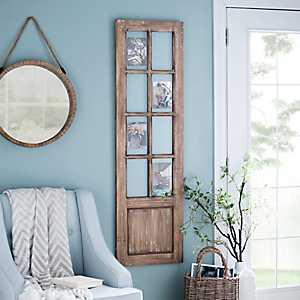 Wooden Door Collage Frame