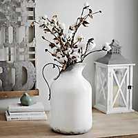 Whitewashed Pitcher Vase