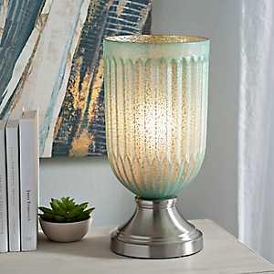 Morning Dew Mercury Glass Uplight