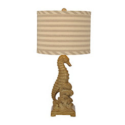Sand Seahorse Table Lamp