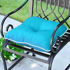 Solid Teal Outdoor Cushion
