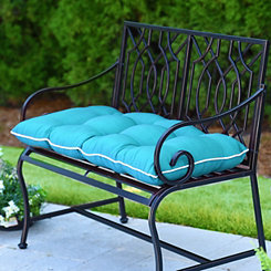 Teal Outdoor Settee Cushion