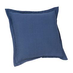 Solid Navy Outdoor Pillow
