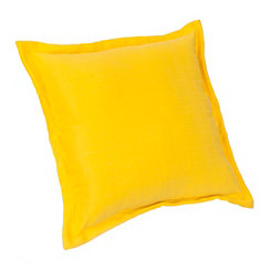 Yellow Fringe Outdoor Pillow