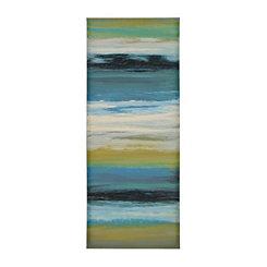 Navy Abstract II Canvas Art Print