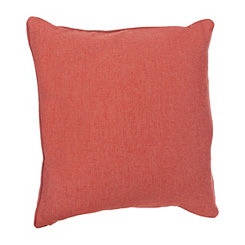 Solid Spice Linen Pillow