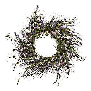 Lavender Berry Wreath