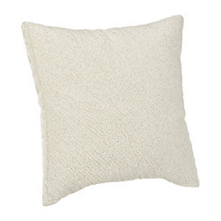 Jaydah Beaded Ivory Pillow
