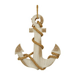 Anchor with Rope Wall Plaque